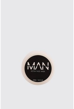 MAN Detox Clay Face Mask, Black