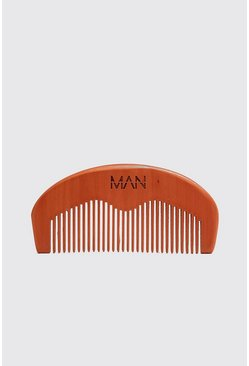 Black MAN Beard Comb