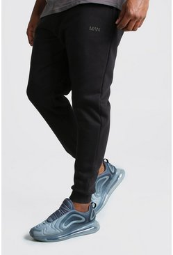 Mens Black Big And Tall MAN Dash Skinny Fit Jogger