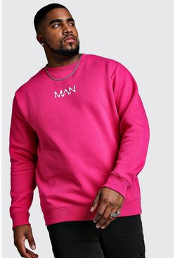 Herr Pink Big And Tall MAN Dash Sweater