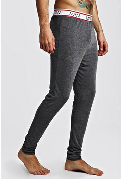 Mens Charcoal MAN Dash Sport Megging