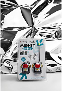 Mighty Mini Walkie Talkies, Multi, HERREN