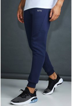 Herr Navy MAN Active Tapered Fit Jogger