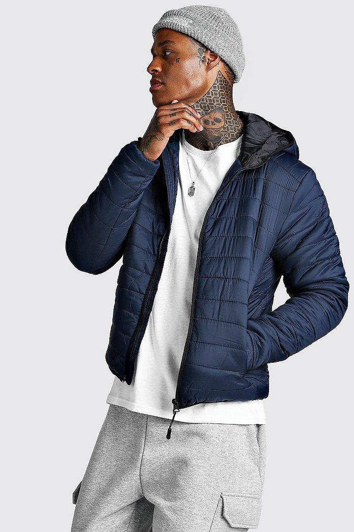 Zip Quilted Puffer Jacket | boohoo