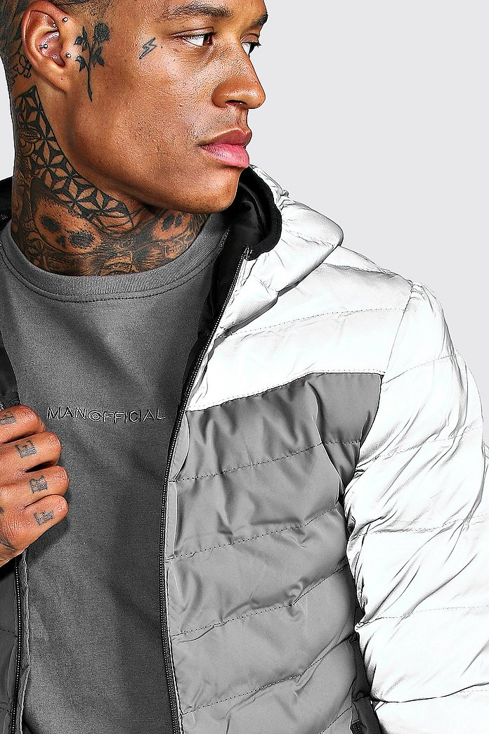 Quilted Zip Through Puffer Jacket | boohoo