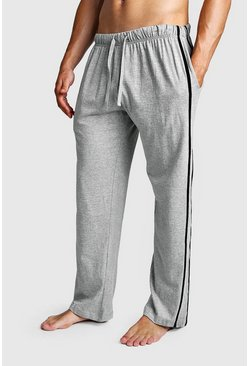Herr Multi 2 Pack Contrast Stripe Lounge Pant