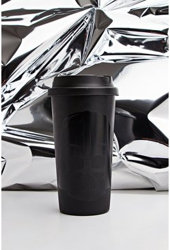 Herr Black Star Wars Darth Vadour Travel Mug