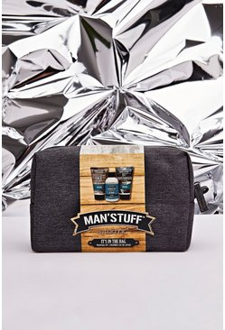 MAN Sruff Washbag Set, Multi, HERREN
