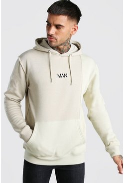 Stone Original MAN Colour Block Hoodie