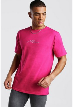 Rose MAN Signature Embroidered T-Shirt