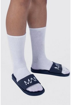 Chanclas MAN Dash, Azul marino