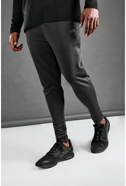 Charcoal Big And Tall MAN Active Skinny Joggers