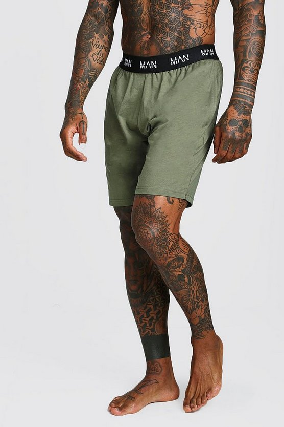 Olive MAN Dash Lounge Shorts