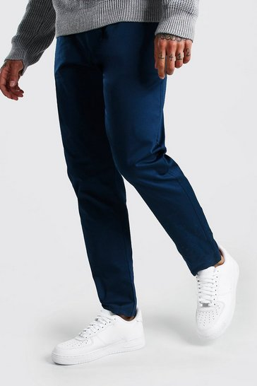 Petrol Skinny Fit Chino Trousers
