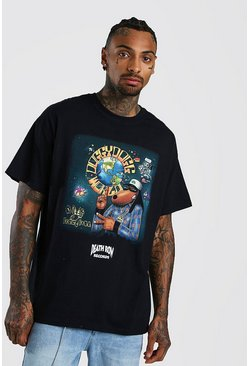 Black Snoop Dogg Death Row License T-Shirt