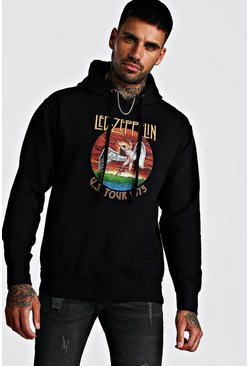 Black Led Zepplin License Hoodie