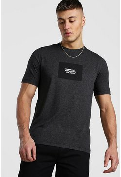 Charcoal MAN Official Flock T-Shirt