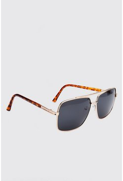 Gold Metal Frame Aviator