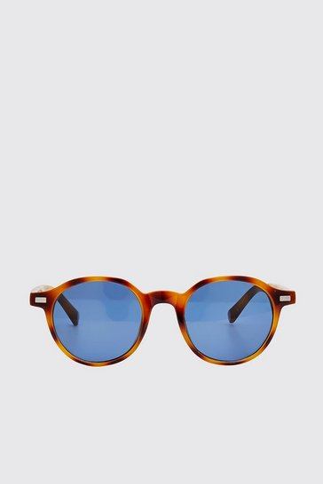 Brown Acetate Classic Sunglasses