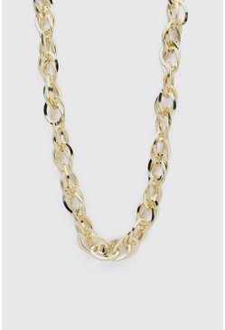 Gold Cluster Chain Necklace