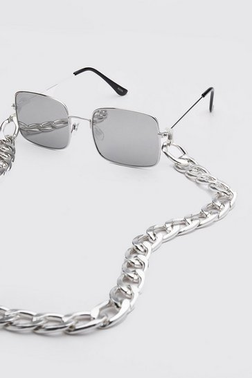 Silver Chain Sunglasses Chain