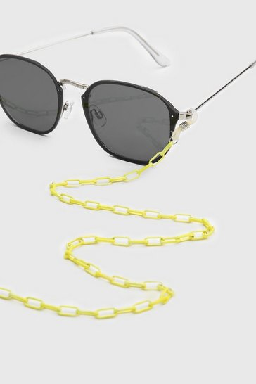 Lime Neon Fine Sunglasses Chain