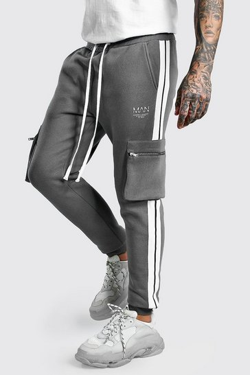 Slate Original MAN Cargo Joggers With Side Tape