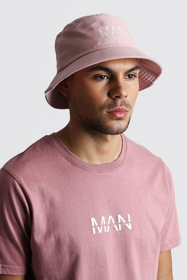 Mauve MAN Dash Bucket Hat