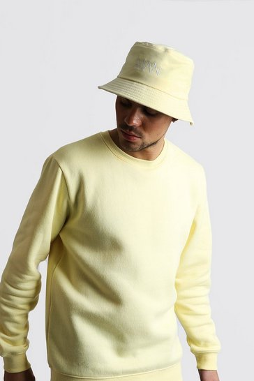 Yellow MAN Dash Bucket Hat