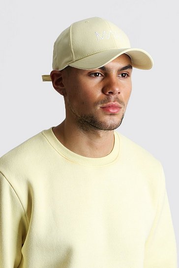 Yellow MAN Dash Cap