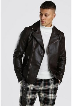 Chocolate Biker Jacket
