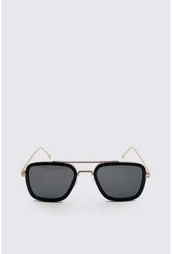 Brown Square Aviator