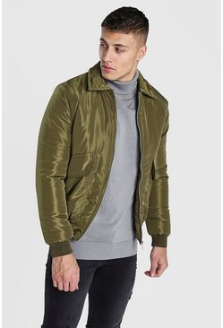 Khaki 2 Pocket Padded Jacket