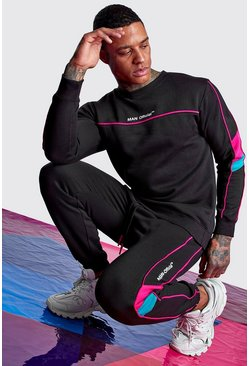 Black Man Official Sweater Tracksuit