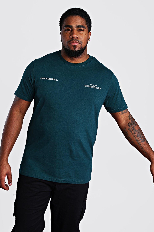 Big & Tall MAN Official Printed T Shirt | boohoo