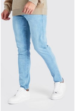 Light blue Washed Denim Skinny Jean