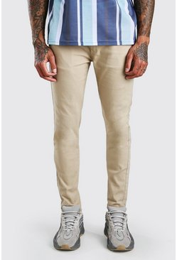 Stone Super Stretch Skinny Chino Trouser