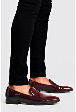 Mens Burgundy Party Colour Change Loafer