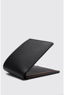 Black Leather Effect Wallet