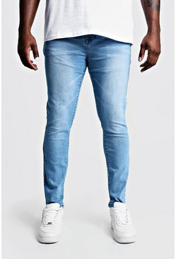 Pale blue Big & Tall - Skinny jeans