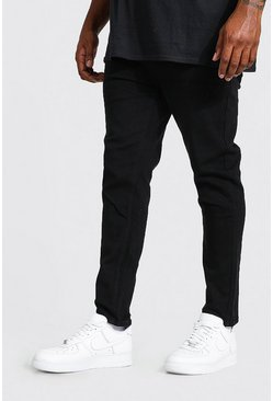 Black Big & Tall - Skinny jeans