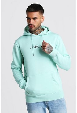 Mint MAN Signature Embroidered Hoodie