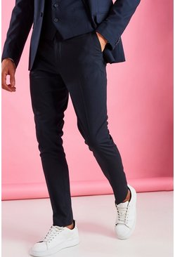 Skinny Fit Trouser, Navy