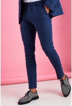 Skinny Fit Suit Trouser, Navy