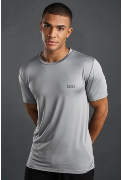 Camiseta Dri-Fit de yoga MAN Active, Gris