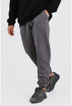 Slate His Loose Fit Jogger With Contrast Wasitband