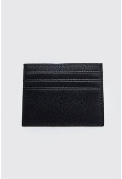 Black Plain Card Holder