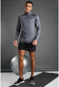 Black MAN Active Contrast Short Set