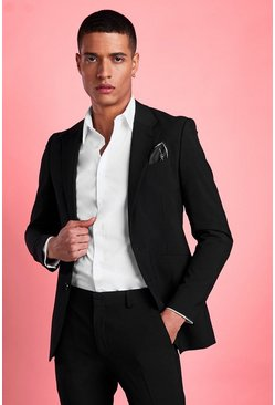 Black Blazer i super skinny fit