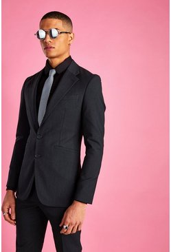 Charcoal Blazer i super skinny fit